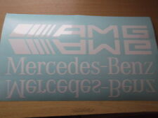 MERCEDES BENZ AMG A B C E CLASS STICKER / DECAL