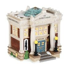 "Dept. 56 New England Village ""THE JEFFERSON LIBRARY"" ~ NEW FOR 2014!!!!"