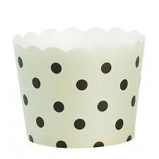 Miss Étoile Muffinförmchen Papierförmchen für Cupcakes gepunktet grün 24 Stück