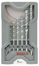Bosch X-Pro Linea Pietra Set Di Punte Per Trapano 7 Pezzi 2607017035