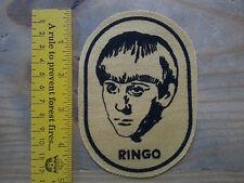 Vintage BEATLES Ringo Starr Patch - Origin Unknown - 1960's? Excellent Condition