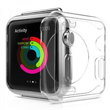 For Apple Watch iWatch 38mm TPU Clear Soft Shell Protective Case Cover Sale