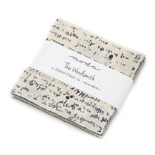 """Moda FABRIC Charm Pack ~ THE WORDSMITH ~ Janet Clare 42 - 5"""" squares"""