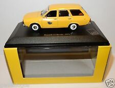 RARE NOREV RENAULT 12 BREAK 1971 POSTES POSTE PTT 1/43 IN LUXE BOX