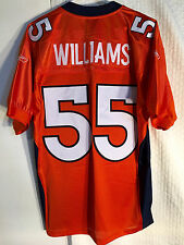 Reebok Authentic NFL Jersey Broncos D.J. Williams Orange Alternate sz 54