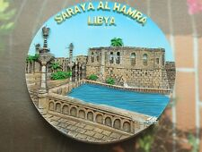 LIBYEN, SARAYA AL HAMRA Reiseandenken Souvenir 3D Polyresin Kühlschrankmagnet