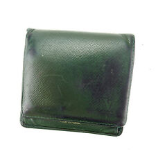 Auth Louis Vuitton Folded Wallet Taiga Mens Used K367