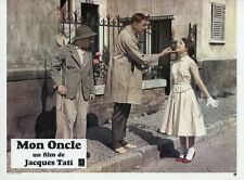 JACQUES TATI MON ONCLE  1958 VINTAGE LOBBY CARD #10  PHOTO D'EXPLOITATION