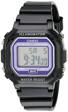 New CASIO F-108W Unisex Digital Illuminator Multi Function Black Watch Xmas Gift