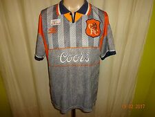 "Fc Chelsea London original umbro proporcionen camiseta 1994-1996 ""coors"" talla m top"