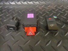 1999 AUDI A6 1.8T SET OF 3 SWITCHES ALARM THEFT/HAZARD & CENTRAL LOCKING