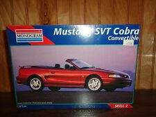 Monogram 1996 Mustang SVT Cobra Convertible 1/25 BBK Tremec 4.6 Model Kit NEW
