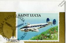BWIA Lockheed LODESTAR Model 18 Aircraft Stamp FDC (100 Years of Powered Flight)