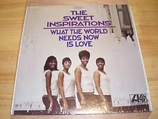 The Sweet Inspirations LP What The World Needs Now Is Love Plum & Tan SD 8201