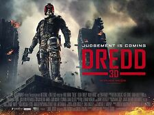 "Dredd 3d 16"" x 12"" Reproduction Movie Poster Photograph"