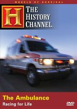 WHEELS OF SURVIVAL: AMBULANCE - RACING FOR LIFE (HISTORY CHANNEL) NEW & SEALED