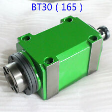 BT30 Taper Power Head Spindle Unit Head 7:24 3000rpm CNC Milling Drilling Tool