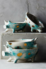 Anthropologie Nesting Pigs Measuring Cups, Set of 4, NWT