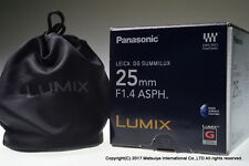 Panasonic LEICA DG SUMMILUX 25mm f/1.4 ASPH. H-X025 Excellent+
