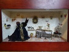 vitrine miniature 40x35 cms Venise Karago
