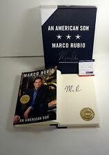 MARCO RUBIO SIGNED AN AMERICAN SON 1ST/1ST LIMITED EDITION BOOK PSA/DNA COA