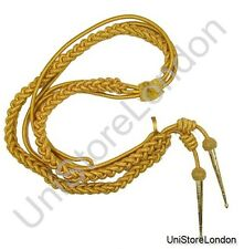 Aiguillette Gold Wire Cord Army R107