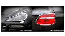 Porsche Cayenne 2007-2010 Headlight & Taillight Chrome Trim Surround