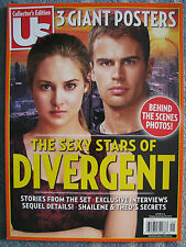 Us Magazine Collector's Edition Divergent 2014 Shailene Woodley Theo James NEW