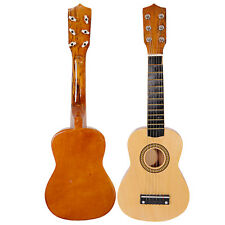 "Wood 21"" 6 String Beginners Practice Acoustic Guitar Musical Instruments Kids"