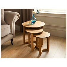 Beautiful Round ShapTilbury Nest of Tables 3pc