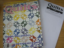 DOWN UNDER QUILTS QUILTING MAGAZINE NUMBER 63 ALICE IN WONDERLAND PEACE DOVES ++