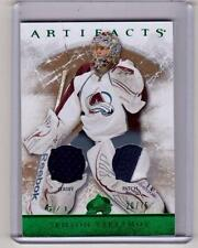 SEMYON VARLAMOV 12/13 UD Artifacts #20/75 Patch & Jersey #TS-RG SP Emerald