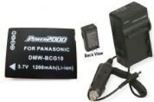Battery + Charger for Panasonic DMC-TZ20A DMC-TZ20K DMCTZ20 DMC-TZ20N DMC-TZ20R