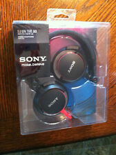Sony MDR-V55 Headband Headphones - Black With Red wire. Brand New.