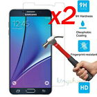 2Pcs Premium Tempered Glass Screen Protector Film For Samsung Galaxy Note 5 4 3