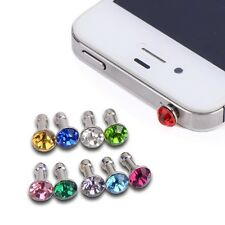 16PCS 3.5 mm Universal Earphone Cap Diamond Anti Dust Plug,Iphone,Samsung all ph