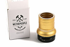 "WeThePeople AHEAD SEALED THREADLESS INTERNAL HEADSET 1-1/8"" GOLD £10 OFF RRP"