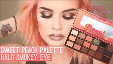 Too Faced Sweet Peach 18 Color Eye Shadow Palette Glow Collection - BNIB USA