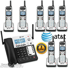 AT&T SYNJ Corded SB67138 w/ 7 Cordless SB67108 Handsets DECT Phone System 4 Line