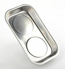 LARGE STAINLESS STEEL MAGNETIC PART SCREWS DISH HOLDER HOLDING PAN TRAY BOWL New