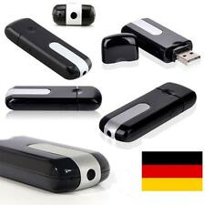USB Stick Neu Mini Kamera Spy Cam HD Bewegungsmelder Videokamera + SD Adapter
