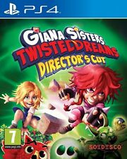 Giana Sisters: Twisted Dreams Directors Cut (PS4) BRAND NEW SEALED