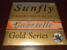 SUNFLY GOLD KARAOKE DISC GD-012 GABRIELLE CD+G SEALED 16 TRACKS