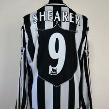 Newcastle United Home Shirt Adult XL SHEARER #9 1997/1999 Long Sleeves L/S