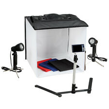 "15"" Light Room Photo Studio Photography Lighting Tent Kit Backdrop Cube Stand"