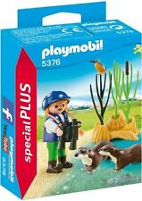 5376 Niña con nutrias playmobil,especial,special,child with otters