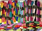 100 x Anchor Solid Stitch Skeins Cotton Embroidery Thread Floss ASSORTED COLOR