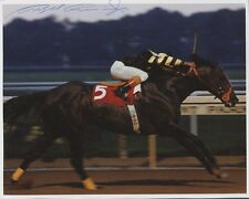 Champion Jockey ANGEL CORDERO, JR. Signed Photo