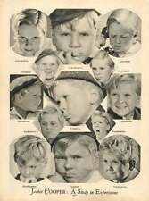 1937 Jackie Cooper Expressions Buster Phelps Spanky