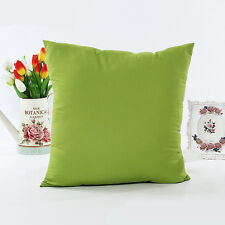 """Colorful Plain Dyed Cushion Cover Pillow Case 18""""x18"""" Sizes"""